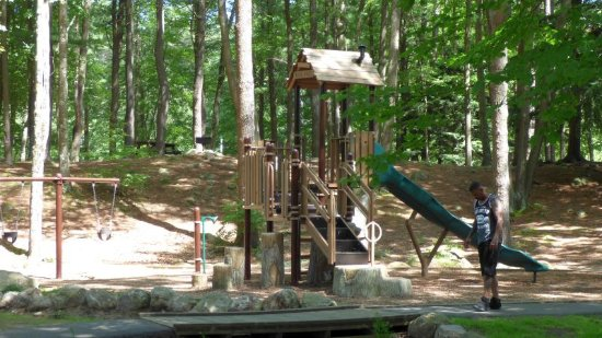 Gardner, MA: play area for children
