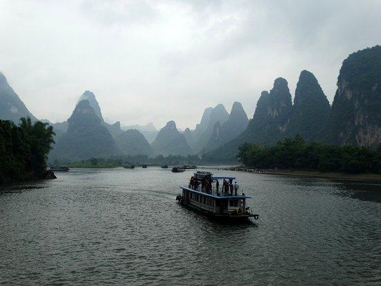 Γκουανγκξί, Κίνα: Paisagem