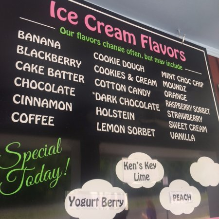 Remington, Wirginia: Choice of ice creams