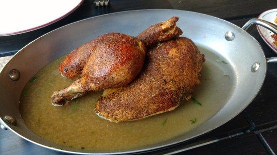 Watertown, แมสซาชูเซตส์: Half Chicken... Perfect