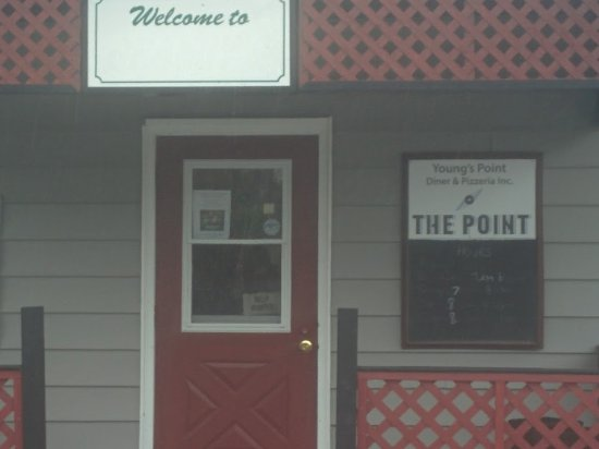 ‪‪Lakefield‬, كندا: Front of Restaurant Young's Point Diner‬