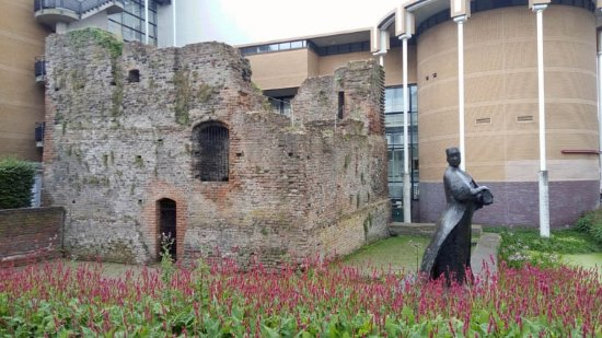 Schiedam, The Netherlands: the ruins