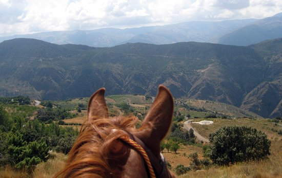 Bubion, Ισπανία: Nice Views doing Great Riding Holidays in the Alpujarras, Sierra Nevada
