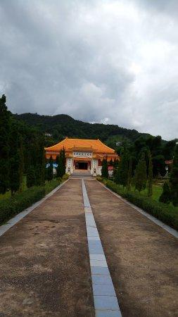 Doi Mae Salong: 義民文史館本館正面