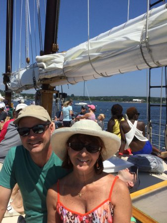 Argia Mystic Cruises: Enjoying our sailing experience!