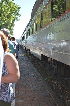 Williams, AZ: Kokoipelli Train Car