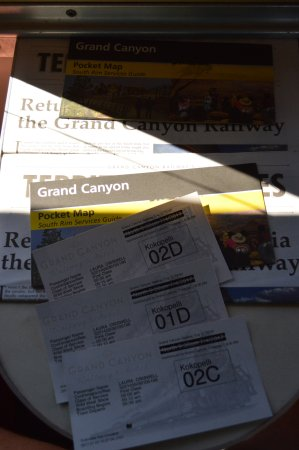 Williams, AZ: Train tickets