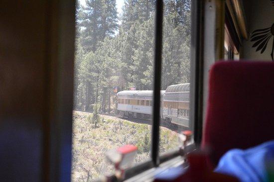 Williams, AZ: Train ride