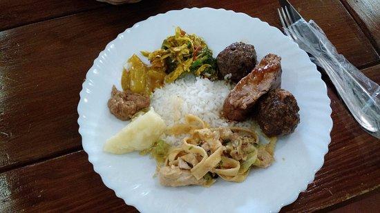 Carambeí, PR: Prato do Almoço