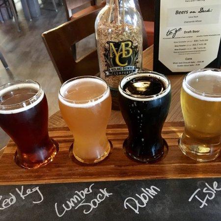 Midland, MI: MBC Beer Flight