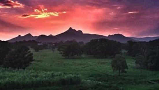 Duranbah, Australia: Mt Warning sunset