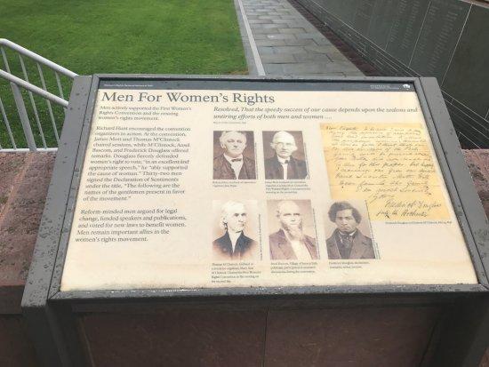 Seneca Falls, Estado de Nueva York: Sign