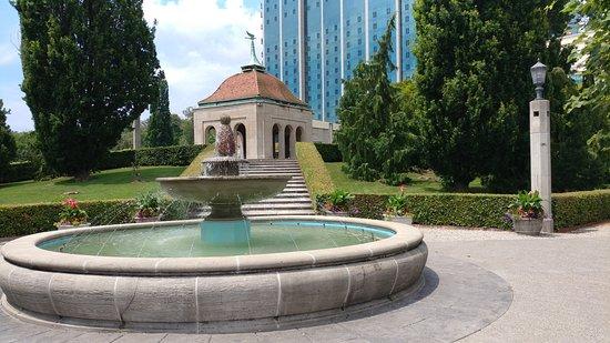 oakes garden theatre oakes garden theater - Water Garden Theater