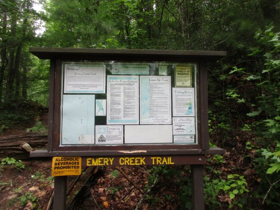 Chatsworth, GA: Information at trail head