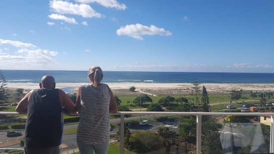 Views over Kirra Beach Qld