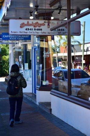 Woy Woy, أستراليا: Burger shop