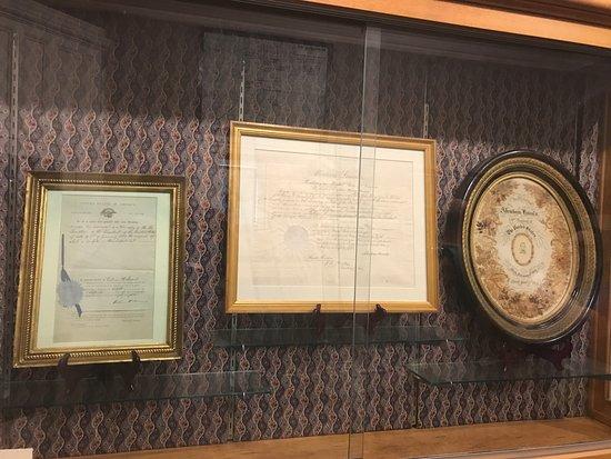 Seward House Museum: Important documents