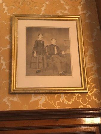 Seward House Museum: Secretary Seward with his favorite daughter