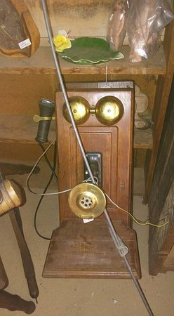 Maryville, TN: We have working antique wall phone