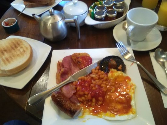 East Harling, UK: Breakfast