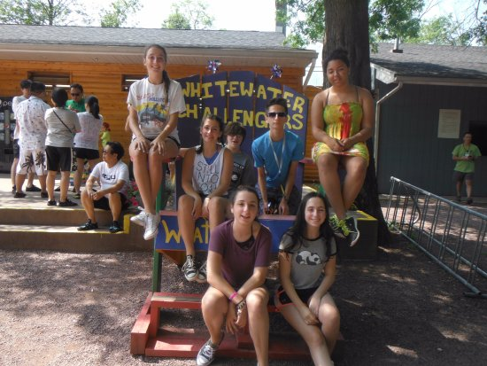 Weatherly, Pensylwania: Our teens before the bus ride