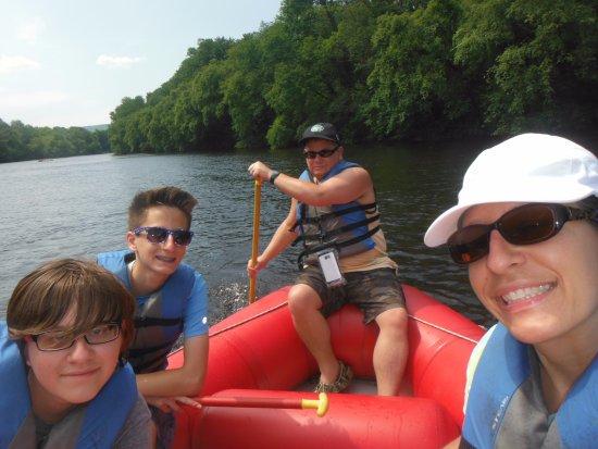 Weatherly, Pensylwania: On the water!