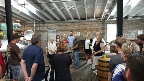 Versailles, KY: Learning how the mash is used in fermentation and alcohol
