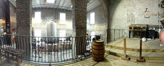 Versailles, KY: Inside part of the distillery