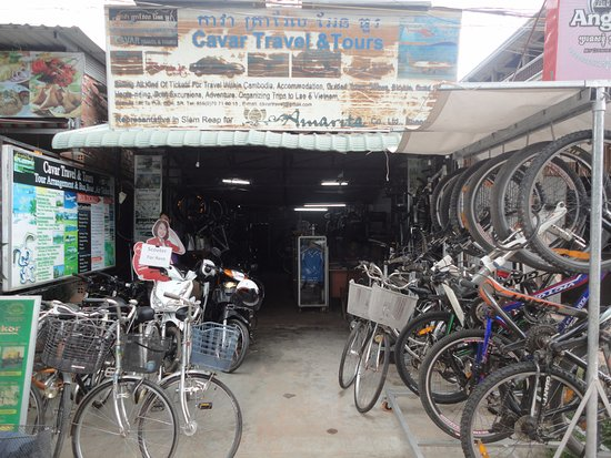 Bicycle Shop Cavar Biking Siem Reap