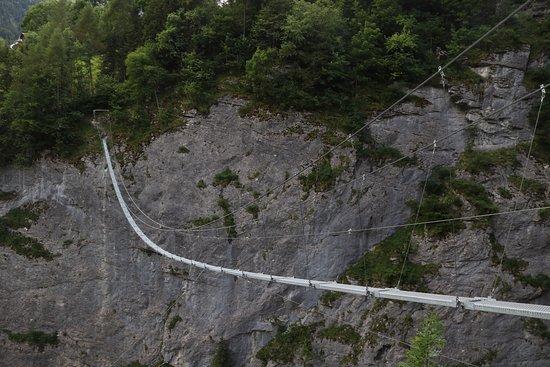 Via Ferrata: Suspension Bridge