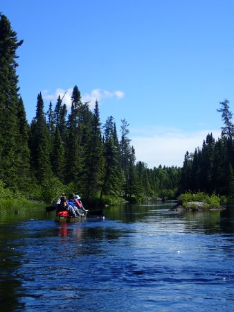 Tuscarora Lodge and Canoe Outfitters : BWCA- one portage in from Tuscarora Outfitters