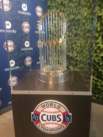 Tastebud Tours - Chicago Food Tours: Check out the Cubs World Series trophy, if it's in town!
