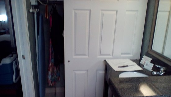 Plainview, NY: Closet in bathroom