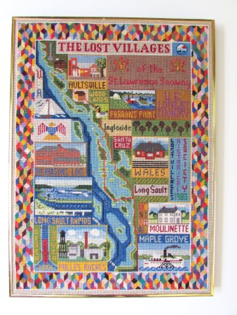 Long Sault, Canada: beautiful embroidered tribute
