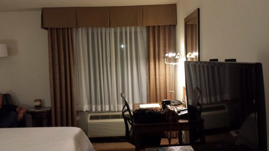 Hilton Garden Inn Dallas/Addison: Desk/work area