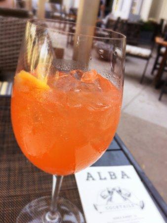 River Terrace Inn, A Noble House Hotel: Noble Sunset - Grey Goose orange vodka