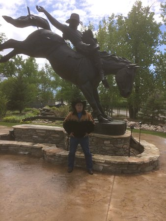 Kaycee, WY: Me at Chris LeDoux Park