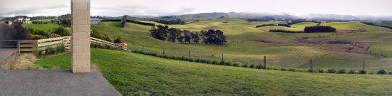 Cheviot, Nueva Zelanda: view from our bedroom, so beautiful