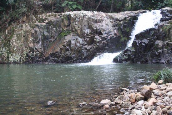 Rancho Queimado, SC: Cascata Trysâmia