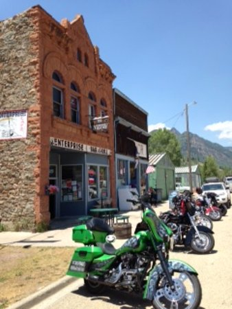 Rico, CO: out front. picnic tables were on side as well