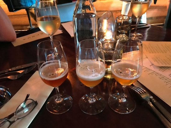 Ketchum, ID: Burke-provided tasting of beers: two exquisite IPA's and a 'sour'