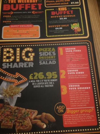 Pizza Hut: Great food and choice