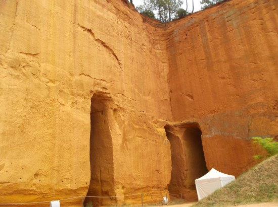 Gargas, France: Mines d'Ocre