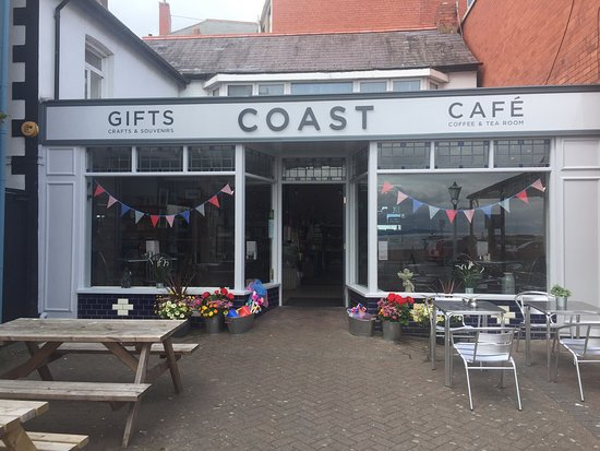 Coast Cafe Amp Gift Shop Rhos On Sea Restaurant Reviews