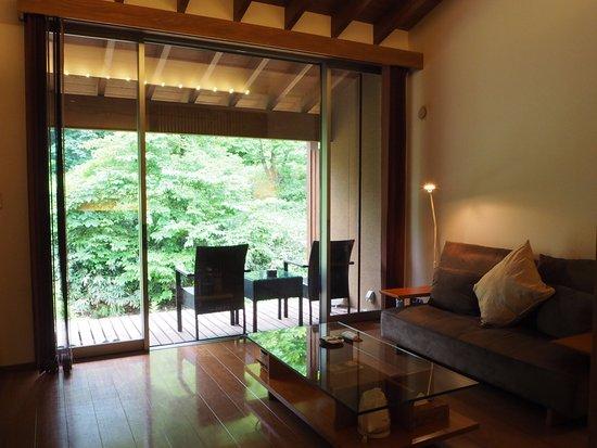 Nishiwaga-machi, Ιαπωνία: リビング&テラス