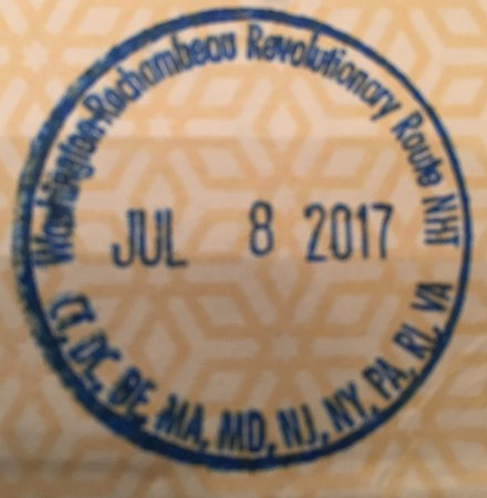 Morristown, NJ: NPS passport stamp available