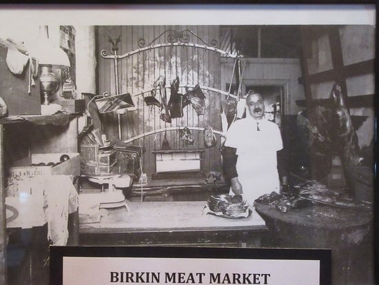 Birkin Meat Market Picture, Battle Mountain Cookhouse Museum, Battle Mountain, Nevada
