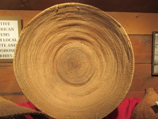 Native American Basket, Battle Mountain Cookhouse Museum, Battle Mountain, Nevada