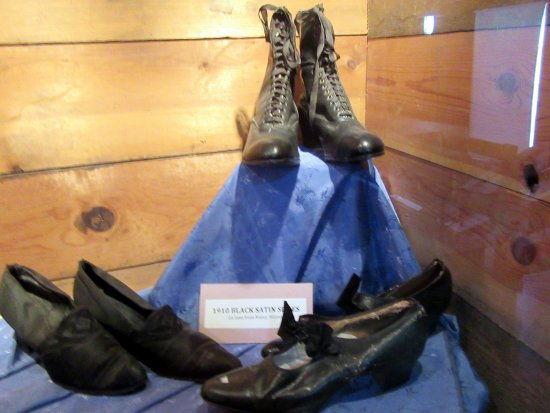 Shoes, , Battle Mountain Cookhouse Museum, Battle Mountain, Nevada
