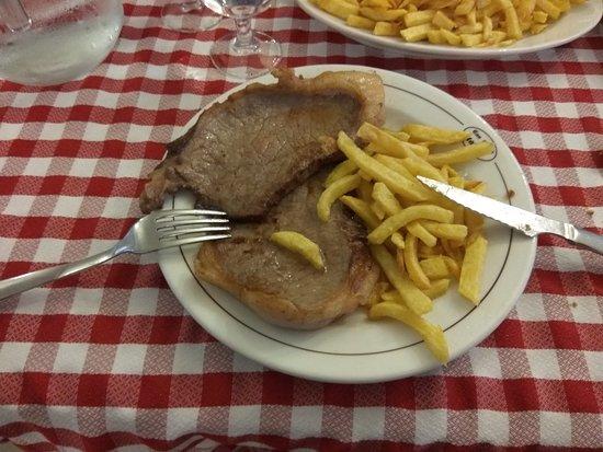 Macanet de Cabrenys, Spain: Exemple de plats...